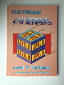 TeeJay Publishers Level D Mathematics Book