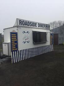 Chip Van/Burger Bar/Catering Trailer built by Butlers