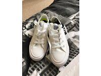White converse size 4