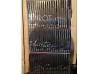 3 full boxes of poirot