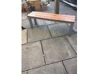 Beautiful Handmade Solid wood bench
