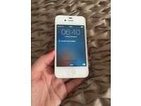 iPhone 4 good condition white