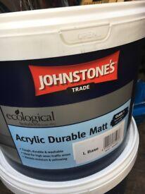 Johnstones covaplus mat and silk paint