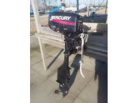 Mercury 3.3 Long-Shaft 2-Stroke Marine Outboard Engine