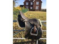 Leather Saddle for sale