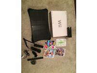 Black Nintendo Wii Console plus bundle