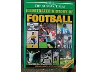 Hard back Football history book