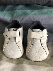Infant puma trainers U.K. size 0