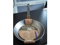De Buyer Mineral B Element carbon steel frying pan 28 cm - new unused