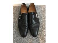 Genuine Barker black men's shoes