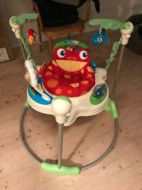Jungle baby bouncer for sale