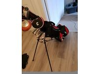 Golf clubs full set including bag