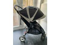 Baby Jogger City Mini Black with Rain Cover Boxed