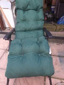 New garden relaxer cushion
