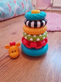 Early Learning Centre - Stacking Rings baby toys