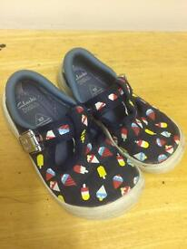 Clarks new shoes size 7