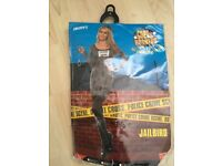 Ladies Jailbird costume -Medium
