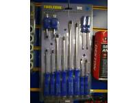 12pc heavy duty screwdriver set