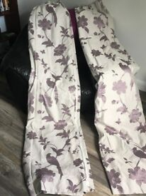 Laura Ashley - Fully Lined Curtains - 90X90