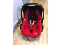 Maxi Cosi baby Pebble car seat red group 0