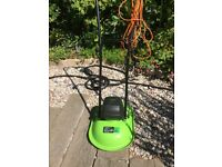 HOVER MOWER, 1000W USED ON 2metre by 5meter patch for two years only!