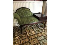 telephone table chair