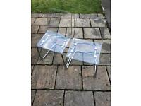 Ikea chair dining room chairs Perspex X2 £60
