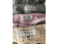 3 pairs Karen Millen trousers. Corduroy size12 others size 14