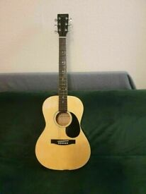 Jim Deacon DG29 Acoustic Guitar 6 STRING FULL SIZE FAIR CONDITON AND FULLY WORKING