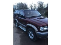 Isuzu trooper duty dt Swb