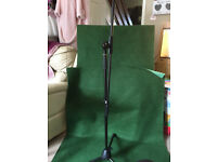 Tiger Black Boom Microphone Stands