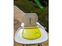 Joie Mimzy Highchair-as new