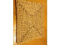 Rustic Table Mats set of 6