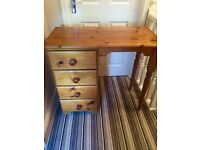 Pine Dressing Table - with drawers