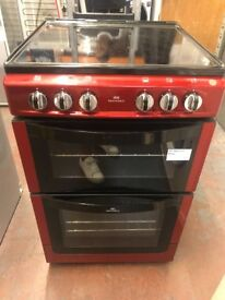 RED 55CM NEWWOLRD ELECTRIC COOKER