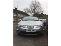 Honda Civic 2.2 5 door diesel car hatchback 86000 millege