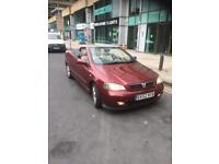 Vauxhall astra coupe convertible 1.8