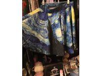 Artistic skirt