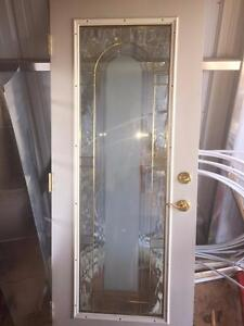 Exterior Glass Door with Fancy Bevel!
