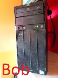 PRICE REDUCTION 4GB ram FAST HP business system Proliant ML110 G6 tower SYSTEM