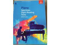 ABRSM Piano Grade 4 Specimen Sight Reading Tests