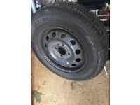 14 inch ford wheel and tyre.