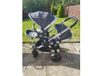 I candy peach twin travel system