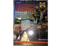 Kevin green coarse fishing manual - signed copy. Never used it read
