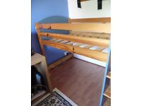 *** For Sale *** - Solid Pine Cabin Bed Frame - Really good condition