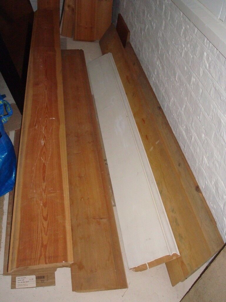 Beautiful Grade Pine Skirting Boards 21cm Height X Diffe Lengths