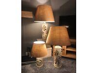Artisan Pottery Lamps