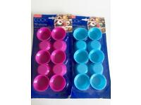 Silicone mini cake moulds, 2 packs