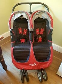 City mini jogger double package - Crimson 2015 edition