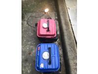 2 petrol generators
